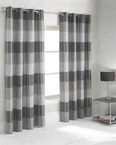 Yellow And Grey Shower Curtain Photo