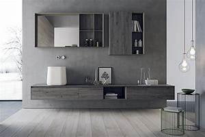 Calix Modern Bathroom Design | Snaidero USA Living  Modern