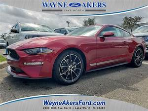 New 2020 FORD MUSTANG EcoBoost Premium Rear Wheel Drive Fastback