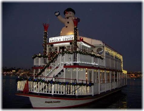 Newport Beach Boat Parade Dinner by Www Angelalouise Riverboat Angela Louise Charter
