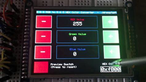 rgb   hex color converter adafruit industries