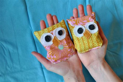 project  owl handwarmers  images diy hand