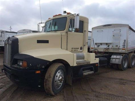 kenworth truck cab 1988 kenworth t600 day cab truck for sale 906 009 miles