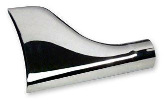 Chrome Fishtail Exhaust Tip Each Night Prowlers Kustom