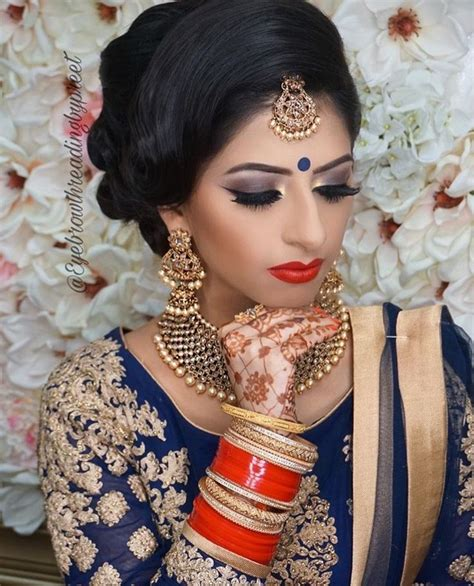 beautiful bridal makeup   wedding nikah engagement