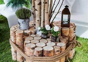 Rondin De Bois Pour Jardin : stunning table de jardin en rondin de bois ideas amazing ~ Edinachiropracticcenter.com Idées de Décoration