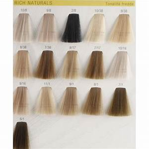 Wella Hair Color Chart Koleston Perfect Rich Naturals Hair Colar And Cut Style