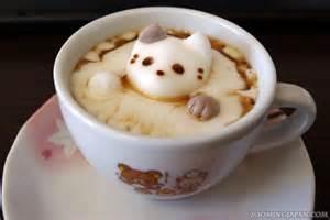 cat marshmallows japanese latte cat marshmallows 187 zooming japan