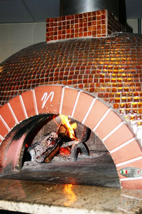 open wood fired pizza oven glass tile www
