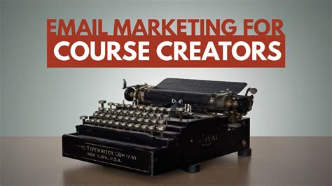 Email Marketing Course by Email Marketing For Course Creators School