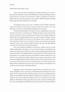 English Macbeth... Macbeth Scene Quotes