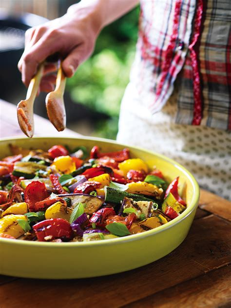 ratatouille en salade chatelaine