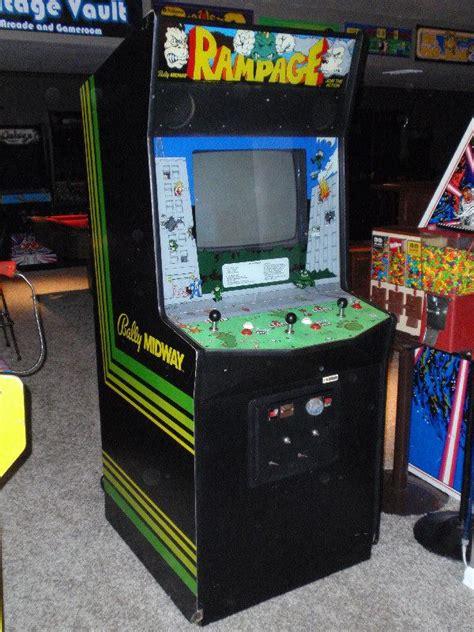 rampage arcade machine google search arcade machine