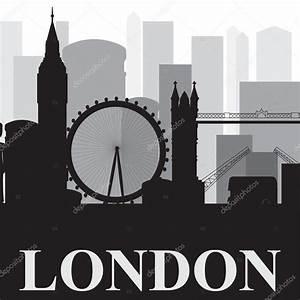 London Skyline Schwarz Weiß : london skyline schwarz wei silhouette stockvektor vareennik 112439128 ~ Watch28wear.com Haus und Dekorationen
