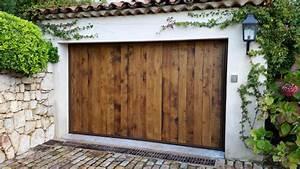 peindre porte garage bois newsindoco With peindre porte garage bois