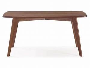 Table En Pin Massif : table rectangulaire 160 cm en pin massif mahoe coloris ~ Teatrodelosmanantiales.com Idées de Décoration