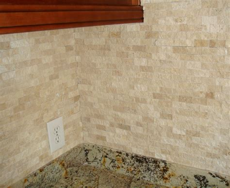 travertine tile kitchen backsplash image of travertine backsplash tile randy gregory design travertine backsplash tile ideas