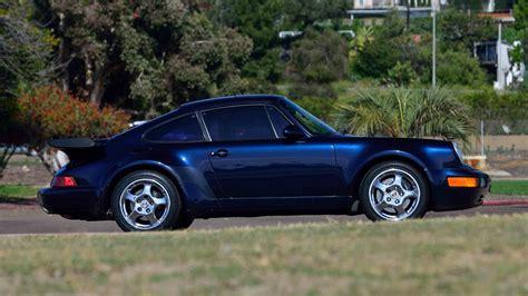 1991 porsche 911 turbo 1991 porsche 911 turbo coupe s15 monterey 2016