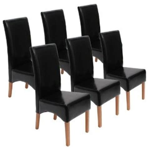 chaise cuisine noir chaise de cuisine cuir noir