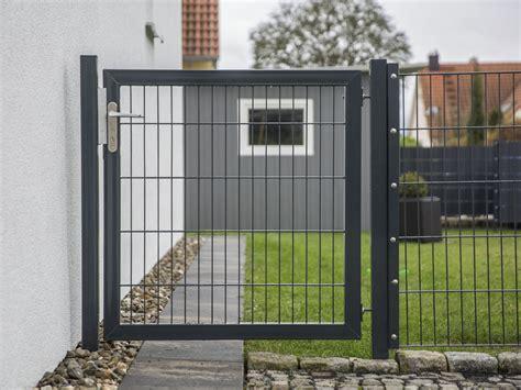 Gartentor Metall Anthrazit  Haus Ideen & Dekor