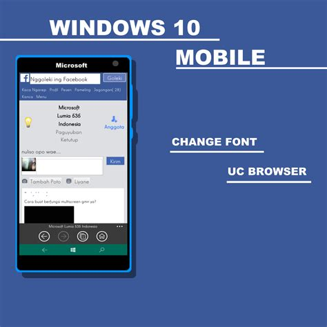 rubah font uc browser windows 10 mobile tata adi n