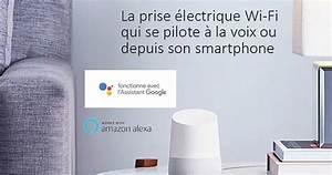 Interrupteur Compatible Google Home : konyks 3 prise pilot e wifi compatible google home et ~ Nature-et-papiers.com Idées de Décoration