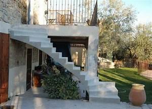 Hauteur Marche Escalier Extérieur : escalier en b ton ext rieur r novation de terrasse scal 39 in ~ Farleysfitness.com Idées de Décoration