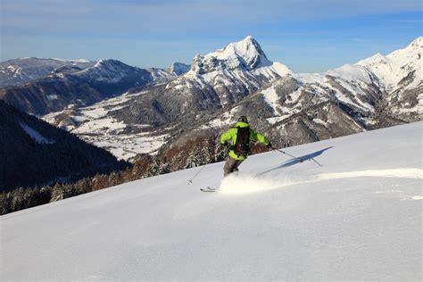 6 splendides espaces de ski de rando savoie mont blanc