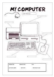 worksheets images worksheets teaching computers