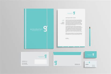 identity mock  design print mockups creative market