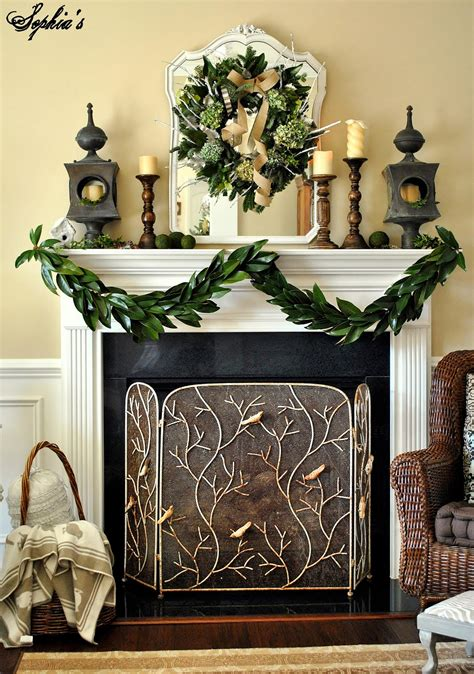 fireplace garlands s how to make a garland with magnolia leaves