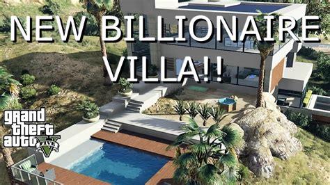 New Billionaire Mansion Villa (gta 5 Mods)
