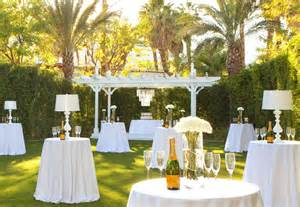 palm wedding venues palm springs intimate wedding venues the riviera palm springs