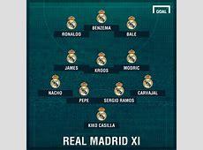 How Real Madrid could line up against Dortmund Goalcom