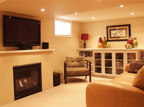 small basement living room decorating tips
