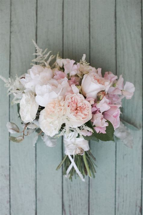 Bouquet Inspiration Delicate Pastels Preowned Wedding