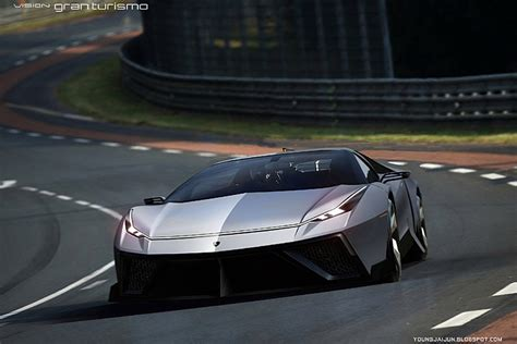 future lamborghini lamborghini 39 missile 39 concept is a 220mph blast to the future