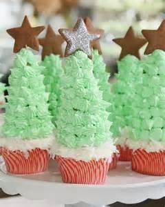 christmas tree cupcakes recipe video martha stewart