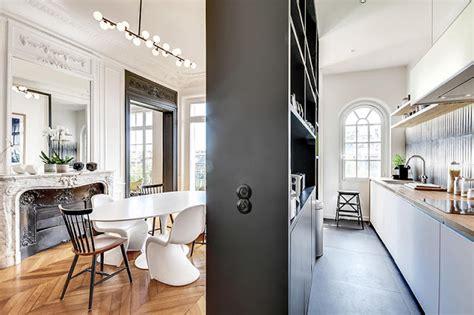 Un Appartement Haussmannien Moderne Et Design  Blog Déco