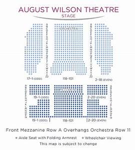 American Airlines Seating Chart August Wilson Theatre Broadway Direct