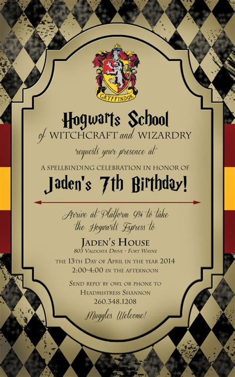 Harry Potter Birthday Invitation By Lifeonpurpose On Etsy. Flyer App Free. Music Lesson Flyer Template. University Of California Graduate Programs. Create Photo Collage Free. Centerpieces For Graduation Parties. Make Scholarship Resume Example. Themes For Youth Revivals. Shopping Cart Web Template