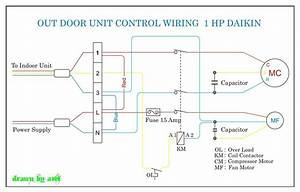 Daikin Outdoor Wiring