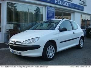 Peugeot 206 1 4 Hdi : peugeot 206 1 4 hdi 2 places 2005 occasion auto peugeot 206 ~ Gottalentnigeria.com Avis de Voitures