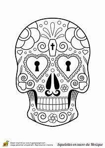 Crane Mexicain Dessin : coloriage squelette sucre serrure coeurs sur day of the ~ Melissatoandfro.com Idées de Décoration