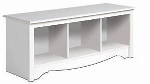new white prepac large cubbie bench 4820 storage usd $ 114