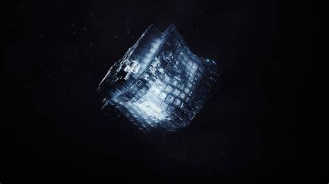 Wallpaper Render, Shape, Cube, Dark, Cgi, Hd, Abstract, #10958