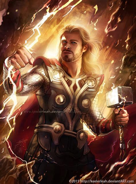 Thor Odinson by keelerleah on DeviantArt