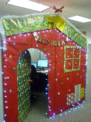 office door christmas decorating ideas 4 calling birds great ideas to the best decorated office in the building