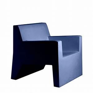 Fauteuil Bleu Marine : fauteuil jut jardinchic ~ Teatrodelosmanantiales.com Idées de Décoration