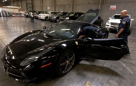 $5 Million In Luxury Cars Seized By Us Customs Picture